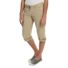 ExOfficio Nomad Dig'r Capris (For Women) in Light Khaki - Closeouts
