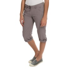 ExOfficio Nomad Dig'r Capris (For Women) in Slate - Closeouts