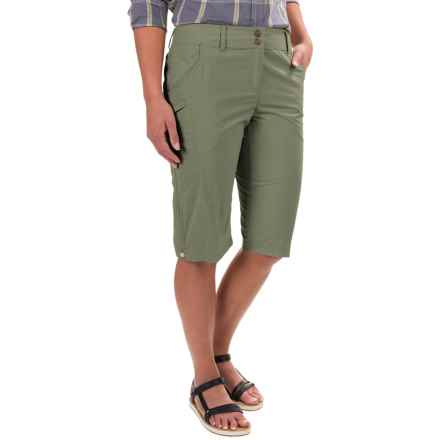 ExOfficio Nomad Dig'r Shorts - UPF 30+ (For Women) in Bay Leaf - Closeouts