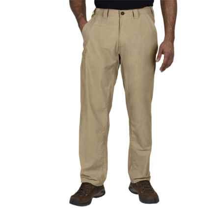 ExOfficio Nomad Pants - UPF 30+ (For Men) in Light Khaki - Closeouts
