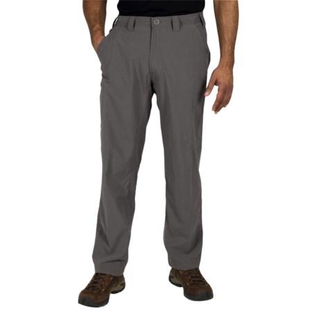 ExOfficio Nomad Pants - UPF 30+ (For Men) in Light Khaki