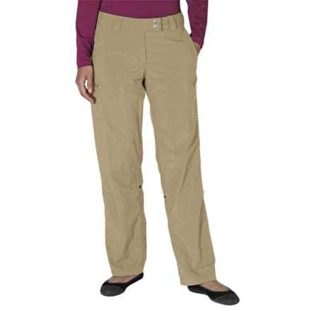 ExOfficio Nomad Roll-Up Pants - UPF 30+ (For Women) in Light Khaki - Closeouts