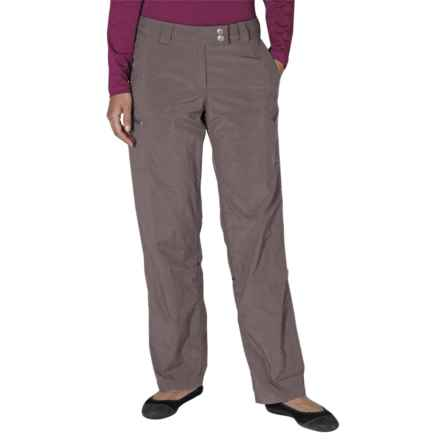 ExOfficio Nomad Roll-Up Pants - UPF 30+ (For Women) in Slate - Closeouts