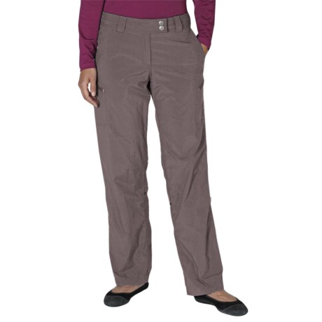 ExOfficio Nomad Roll-Up Pants - UPF 30+ (For Women) in Slate