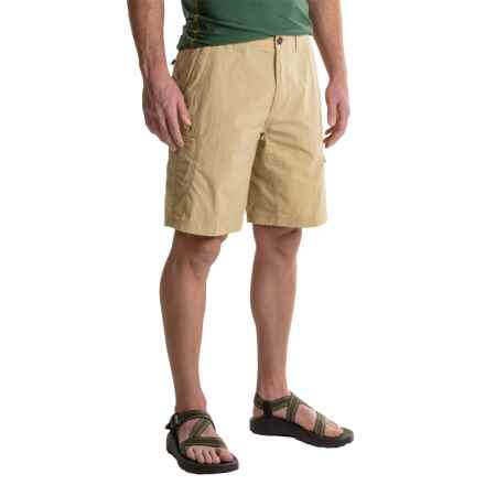 ExOfficio Nomad Shorts - UPF 30+ (For Men) in Light Khaki - Closeouts