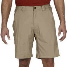 ExOfficio Nomad Shorts - UPF 30+, Nylon (For Men) in Light Khaki - Closeouts