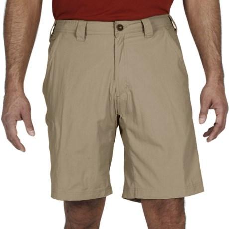 ExOfficio Nomad Shorts - UPF 30+, Nylon (For Men) in Light Khaki