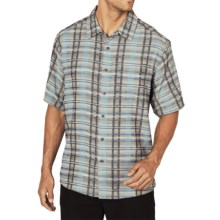 ExOfficio Now Boarding Plaid Shirt - Short Sleeve (For Men)