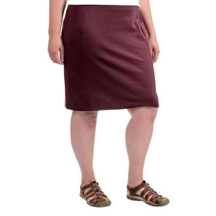 ExOfficio Odessa Skirt - UPF 30 (For Women) in Brandy - Closeouts