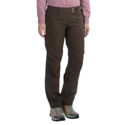 ExOfficio Ometti Pants (For Women) in Cigar - Closeouts