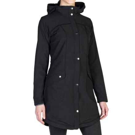 ExOfficio Ometti Trench Coat (For Women) in Black - Closeouts