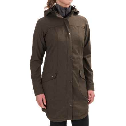 ExOfficio Ometti Trench Coat (For Women) in Cigar - Closeouts
