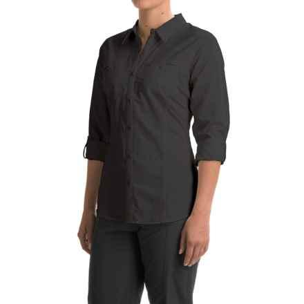 ExOfficio Percorsa Shirt - UPF 30+, Long Sleeve (For Women) in Black - Closeouts