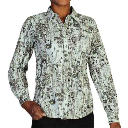 ExOfficio Percorsa Shirt - UPF 30+, Long Sleeve (For Women) in Botanic - Closeouts