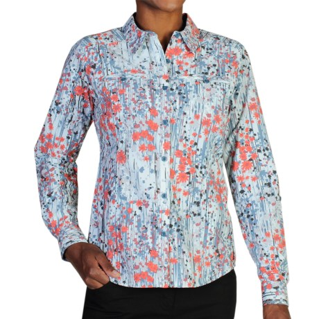 ExOfficio Percorsa Shirt - UPF 30+, Long Sleeve (For Women) in Dusk