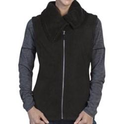 ExOfficio Persian Fleece Vest (For Women) in Black