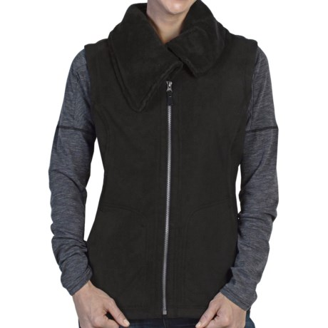 ExOfficio Persian Fleece Vest (For Women) in Black