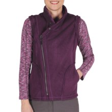 ExOfficio Persian Fleece Vest (For Women) in Plum - Closeouts