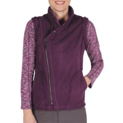 ExOfficio Persian Fleece Vest (For Women) in Plum