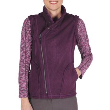 ExOfficio Persian Fleece Vest (For Women) in Plum
