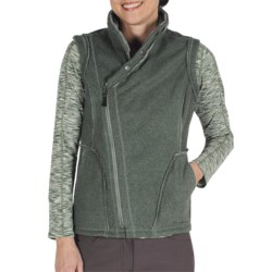 ExOfficio Persian Fleece Vest (For Women) in Rosemary