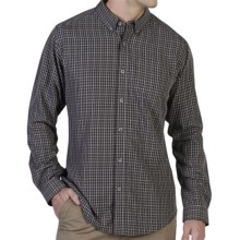 ExOfficio Pisco Plaid Shirt - Long Sleeve (For Men) in Black - Closeouts