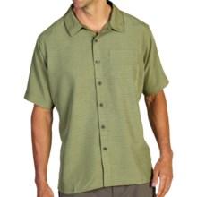 ExOfficio Pisco Slub Shirt - UPF 20+, Short Sleeve (For Men) in Pistachio - Closeouts