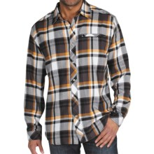 ExOfficio Pocatello Macro Plaid Shirt - Long Sleeve (For Men) in Black - Closeouts