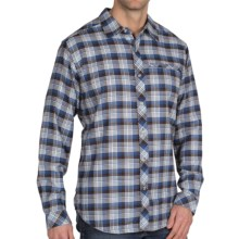 ExOfficio Pocatello Micro-Plaid Shirt - Long Sleeve (For Men) in Ensign - Closeouts