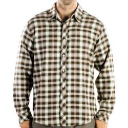 ExOfficio Pocatello Plaid Macro Shirt - Long Sleeve (For Men) in Ensign