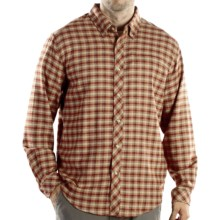 ExOfficio Pocatello Plaid Micro Shirt - Long Sleeve (For Men) in Rust - Closeouts