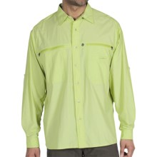 ExOfficio Reef Runner Lite Shirt - Long Sleeve (For Men) in Agave - Closeouts