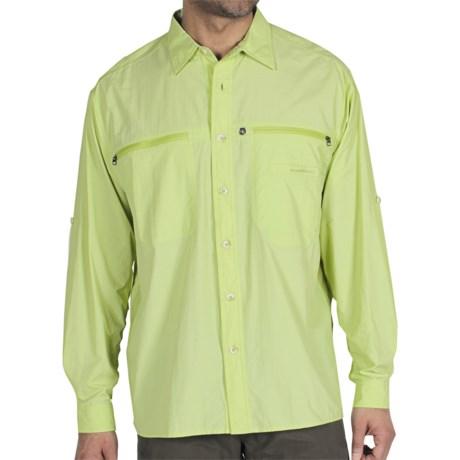 ExOfficio Reef Runner Lite Shirt - Long Sleeve (For Men) in Agave