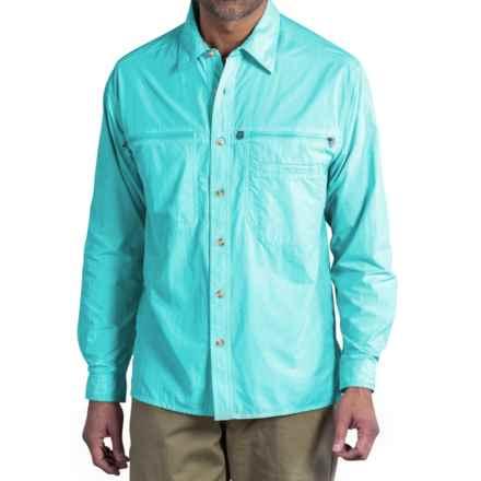 ExOfficio Reef Runner Lite Shirt - UPF 30+, Long Sleeve (For Men) in Azul - Closeouts