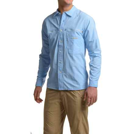 ExOfficio Reef Runner Lite Shirt - UPF 30+, Long Sleeve (For Men) in Light Lapis - Closeouts