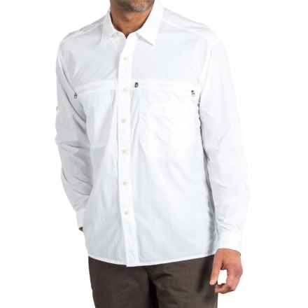 ExOfficio Reef Runner Lite Shirt - UPF 30+, Long Sleeve (For Men) in White - Closeouts
