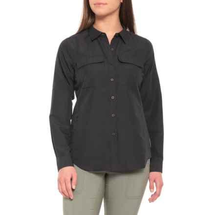 ExOfficio Rotova TENCEL® Shirt - UPF 40, Long Sleeve (For Women) in Black - Closeouts
