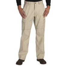 ExOfficio Roughian Cargo Pants - UPF 50+ (For Men) in Light Khaki - Closeouts