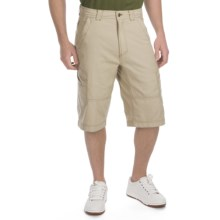 ExOfficio Roughian Cargo Skim'r Shorts - UPF 50+ (For Men) in Light Khaki - Closeouts