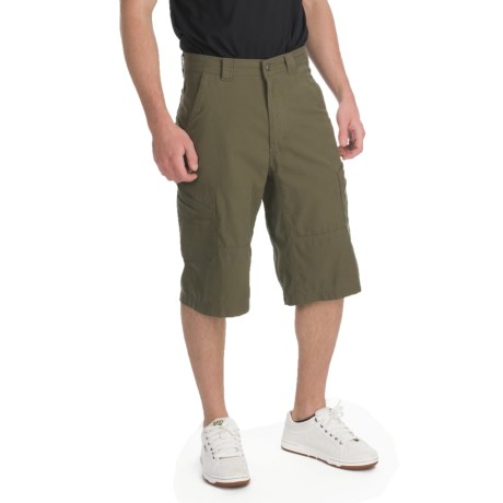 ExOfficio Roughian Cargo Skim'r Shorts - UPF 50+ (For Men) in Loden
