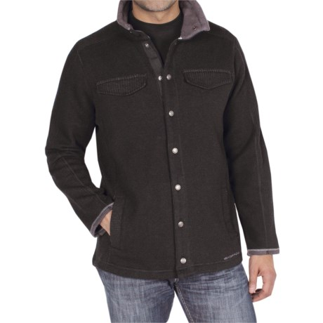 ExOfficio Roughian Jacket (For Men) in Dark Brick