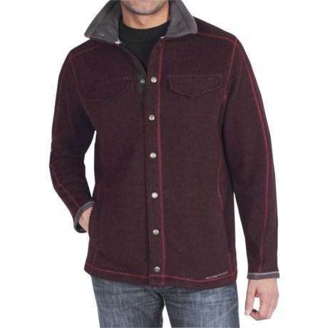 ExOfficio Roughian Jacket (For Men) in Dark Brick