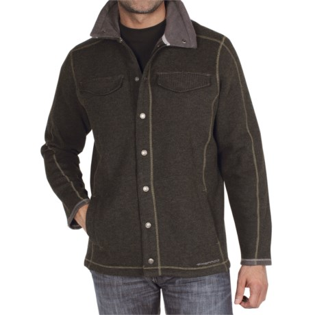 ExOfficio Roughian Jacket (For Men) in Loden