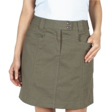 ExOfficio Roughian Skirt - UPF 50+, Canvas (For Women) in Sage - Closeouts