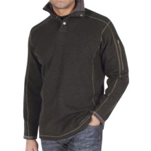 ExOfficio Roughian Sweater - Snap Front, Long Sleeve (For Men) in Loden - Closeouts