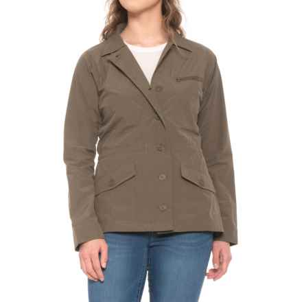 55629a3af00ab ExOfficio Round Trip Jacket - UPF 50 (For Women) in Cigar - Closeouts