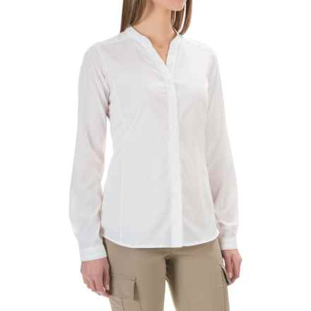 ExOfficio Safiri Shirt - UPF 20, Long Sleeve (For Women) in White - Closeouts