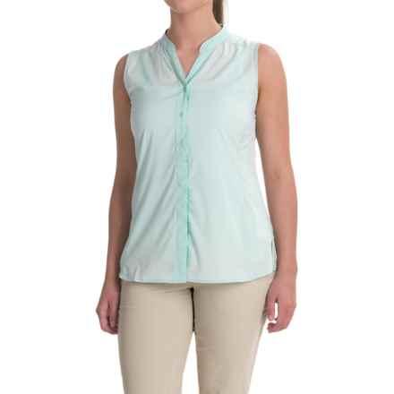 ExOfficio Safiri Shirt - UPF 20, Sleeveless (For Women) in Tourmaline - Closeouts