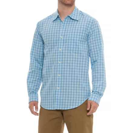 ExOfficio Salida Check Shirt - UPF 40, Long Sleeve (For Men) in Silverlake - Closeouts