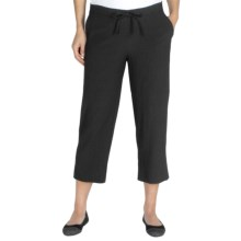 ExOfficio Savvy Capris (For Women) in Black - Closeouts